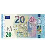 20 € Verrechnungsscheck