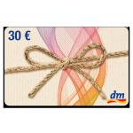 30 € dm-Drogerie Gutschein
