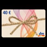40 € dm-Drogerie Gutschein