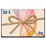 50 € dm-Drogerie Gutschein