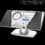 Karcher Design Musik-Anlage