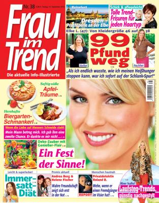Frau im Trend - aktuelle Ausgabe 38/2013