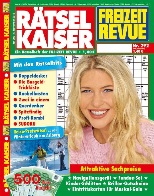 RÄTSEL KAISER Jahres-Abo